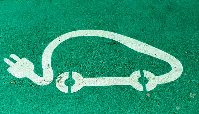 Aparcamiento para coches eléctricos
